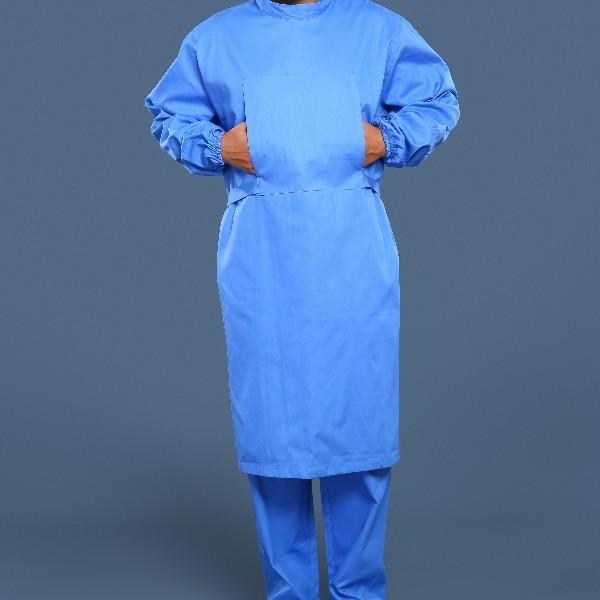 蓝色手术衣