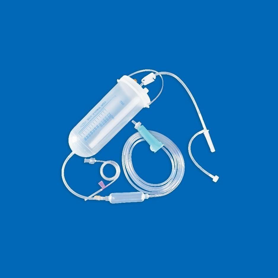 一次性使用吊瓶式输液器 带针