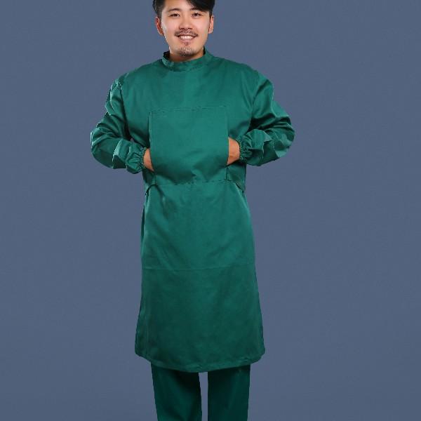 墨绿手术衣