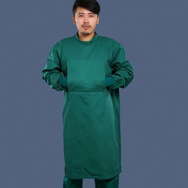 墨绿全包围手术衣