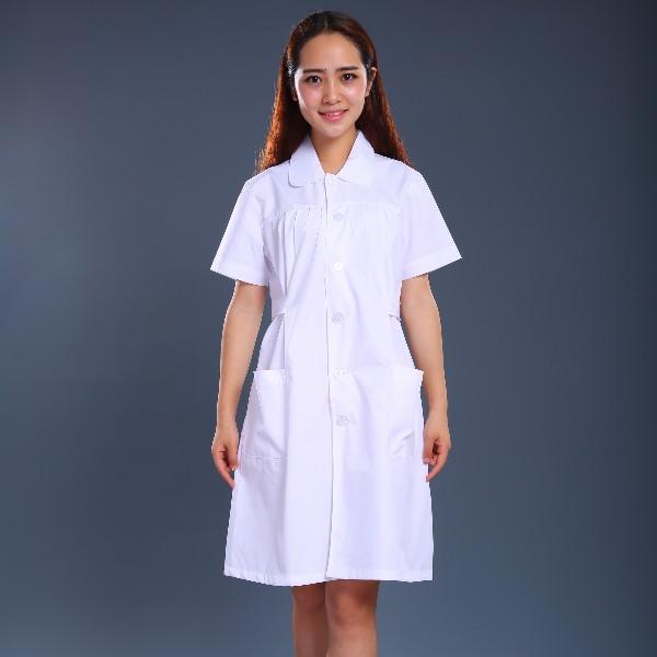 纯白护士制服
