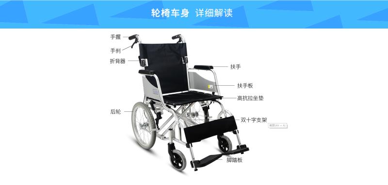 手动轮椅车调整小知识